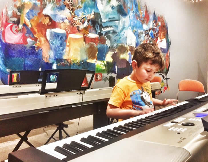 Music lessons for children, ages 4-5
