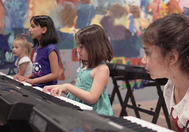 Group Music Classes for Children (Ages 7-9)